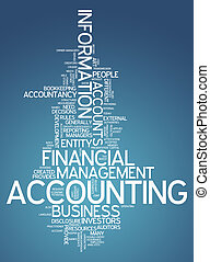 """accounting"", słowo, chmura"