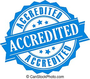 Accredited vector label