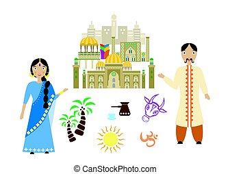 accueil, Inde