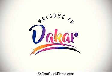 accueil, pourpre, vibrant, moderne, colors., dakar, message