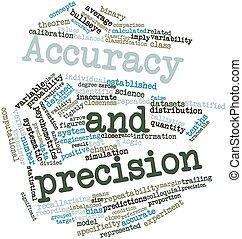 accuratezza, e, precisione
