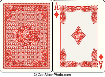 ace-diamond - playing card ace of spades