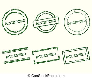 aceitado, selos
