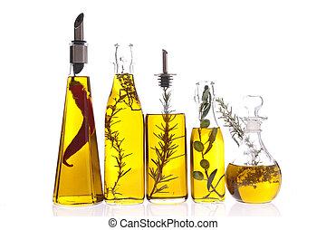 aceite, cocina, botella