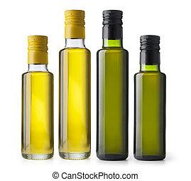 aceite de oliva, botellas