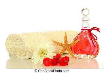 aceite del masaje