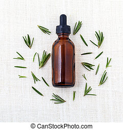 aceite, ingredientes, aromatherapy., natural, esencial, ...