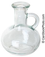 aceite, vasija, plano de fondo, vegetal, blanco, especial