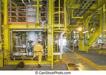 aceite y gas, industry.