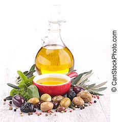 aceituna, aceite de cocina
