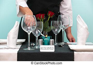 acenda vela, waitres