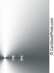acero, shimmering