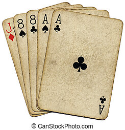 Aces and 8's, the dead man's hand. - Aces and eights, the ...