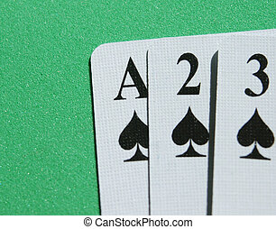 Aces two three