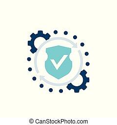 acesso, segurança, proteção, vetorial