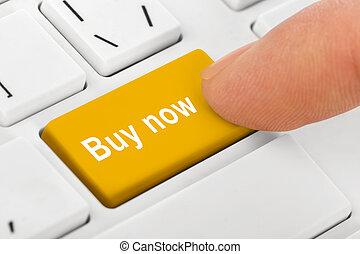 achat, clef informatique, cahier, clavier
