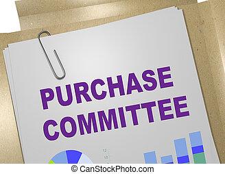 achat, concept, comité