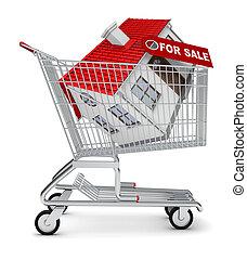 achat foyer, vente, charrette