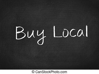 achat, local