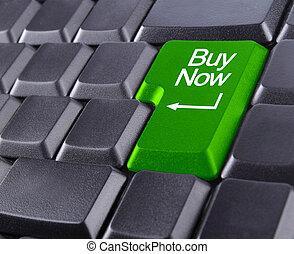 achat maintenant, clavier