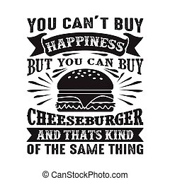 achat, mais, cheeseburger, bon, chose, t, espèce, boîte, ...