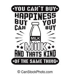 achat, mais, lait, bon, chose, t, espèce, boîte, bonheur, ...