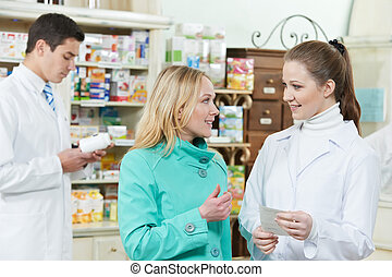 achat, monde médical, drogue, pharmacie