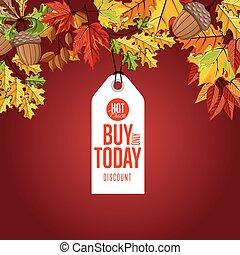 achat, price., seulement, chaud, label., aujourd'hui