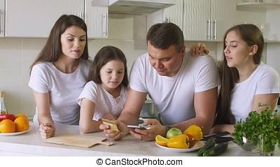 achats, card., famille, crédit, internet, utilisation, marques, heureux