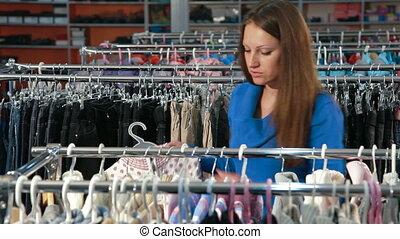 achats femme, vêtements