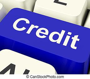 achats, finance, prêt, crédit, clã©, représenter, ou