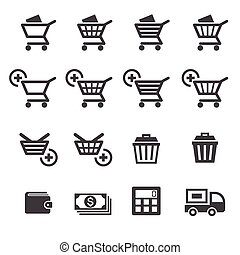 achats, icône