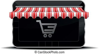 achats, tablette