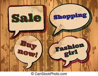 achats, vendange, bulles, parole, themed