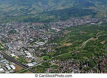 Achern, Baden aerial
