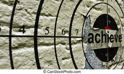 Achieve tag on grunge target