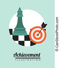 Achievement icon design