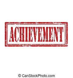 Achievement-stamp