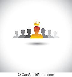 achieving best employee corporate award - success vector...