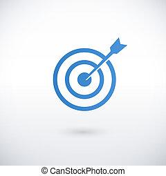achieving goal logo design template
