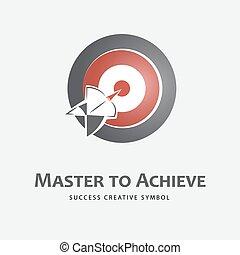 Achieving logo template