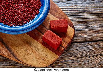 achiote, annatto, Mexique, assaisonnement, graine, populaire...