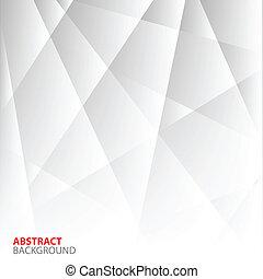 achtergrond., abstract, grijze , geometrisch