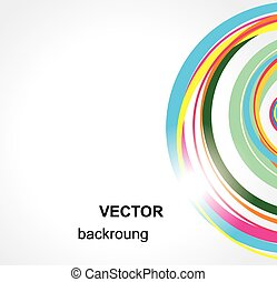 achtergrond., abstract, vector.