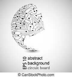 achtergrond., abstract, vector, eps10