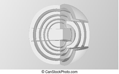 achtergrond., abstract, vector, minimalistic, design., 3d,...