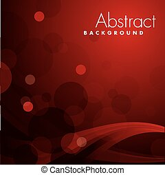 achtergrond., abstract, vector, rood
