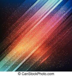 achtergrond., abstract, vector, toekomst