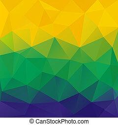 achtergrond., abstract, veelhoek