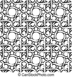 achtergrond., arabische , vector, pattern., seamless